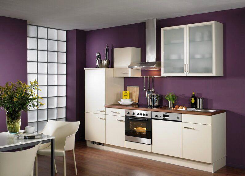 10 cocinas color purpura y morado colores en casa - Cocina color lila ...