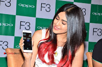 Bollywood Actress Adah Sharma Pos in White Printed Short Dress at OPPO F3 Plus Selfie Expert Mobile Launch .COM 0064.jpg