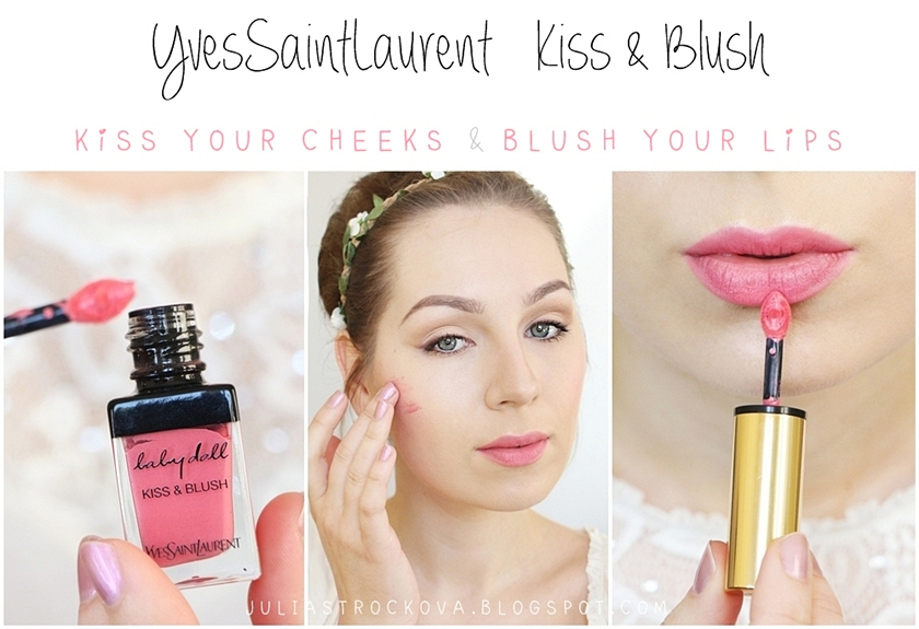 Julia S Beauty Garden Ysl Baby Doll Kiss Amp Blush 2 In 1
