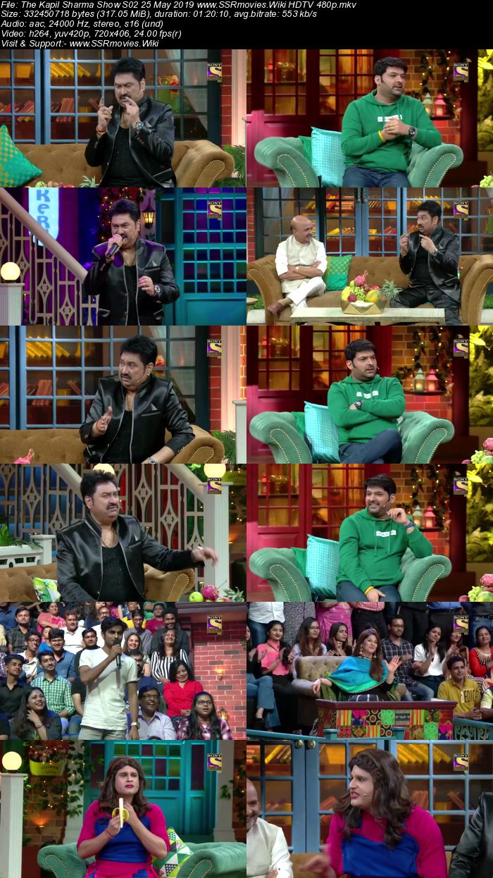The Kapil Sharma Show S02 25 May 2019 Full Show Download HDTV HDRip 480p