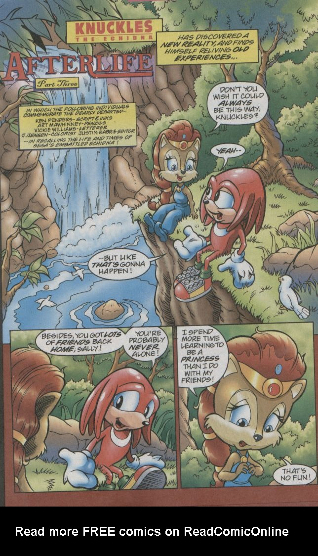 Read online Sonic The Hedgehog comic -  Issue #123 - 13