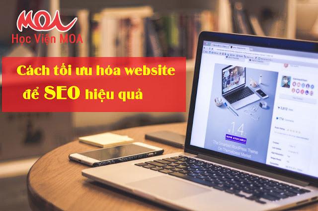 Tối ưu hóa website chuẩn SEO