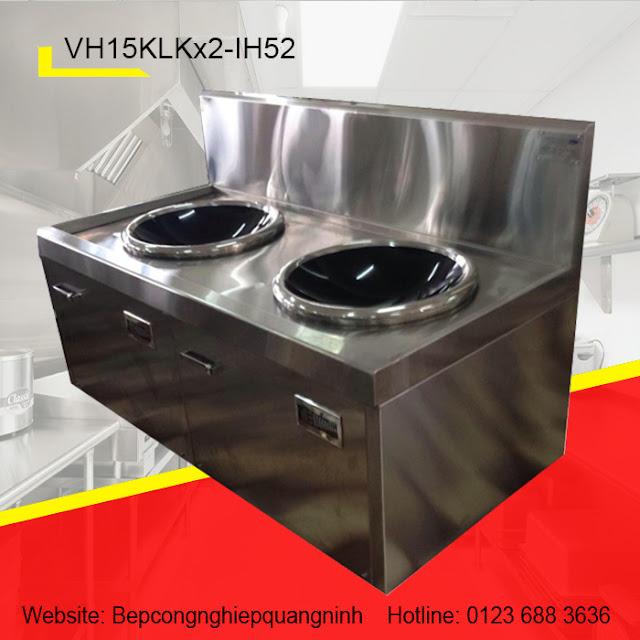 Bếp từ 2 lò mặt kính lõm VH15KLKx2-IH52