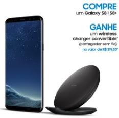 Cadastrar Promoção Samsung S8 Compre Ganhe Carregador Sem Fio