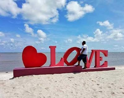 Lokasi Pantai Romantis Serdang Badagai Sumatra Utara
