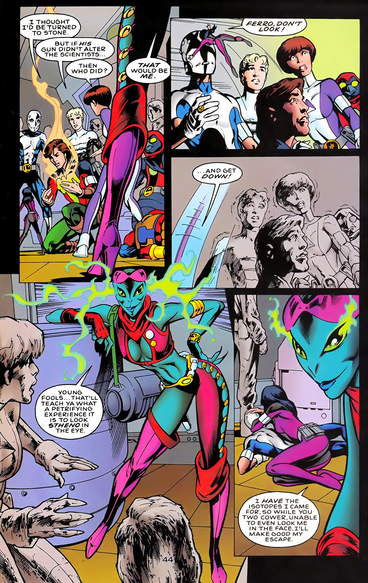 Legion of Super-Heroes (1989) 100 Page 40