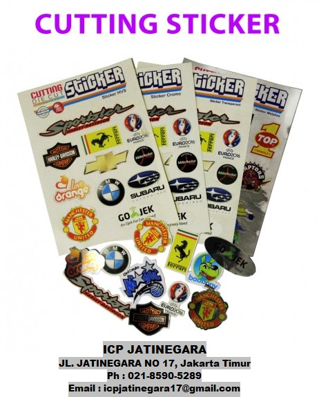 ICP Digital Printing: Promo : Cutting Sticker A3