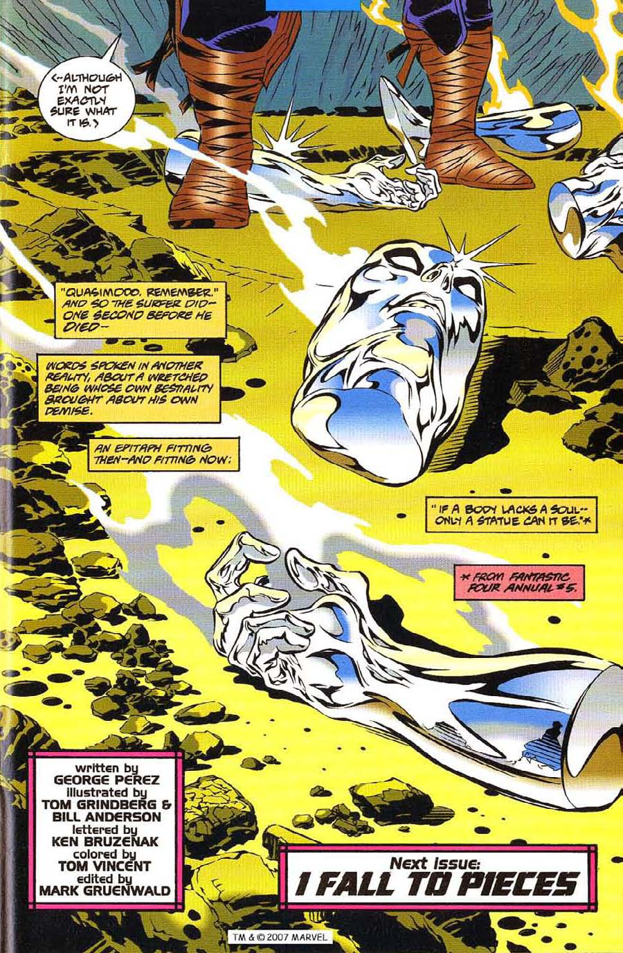 Silver Surfer (1987) Issue #113 #121 - English 33