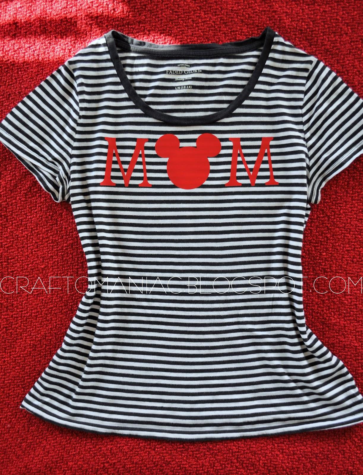 DIY Disneyland Shirt - and other cute clothing ideas ...