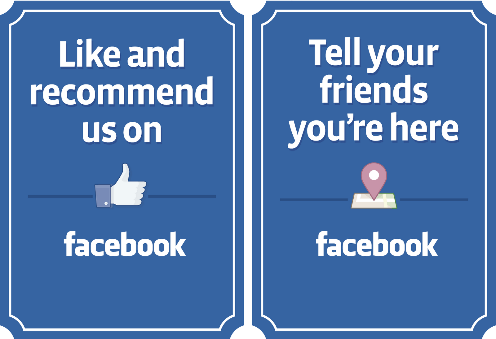 Printable facebook banners for your pages websites and for Like us on facebook sticker template