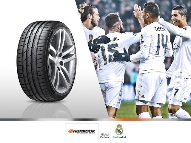 Confirmado: Hankook nuevo sponsor del Real Madrid