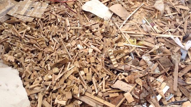 cara mudah menghasilkan uang dari limbah sisa mebel kayu jati