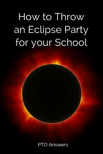 How to throw an Eclipse party that your entire school will love! The upcoming eclipse offers a unique opportunity for both fun and educational event that your PTA / PTO can sponsor! Great program idea! Take advantage of this rare celestial happening!