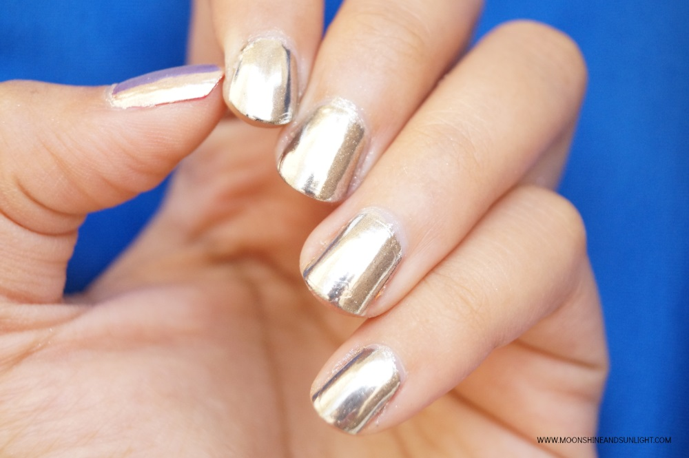 How to get Chrome Nails WITHOUT Gel polish | Sparkle & Co.