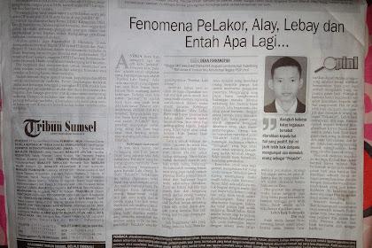 """""""PeLakOr"""" Karya Tulisan Deka yang Terbit di Koran Hari Rabu, 13 Desember 2017"""