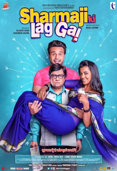 Poster of Sharma ji ki lag gayi (2019) Full Movie Hindi 720p HDRip Free Download
