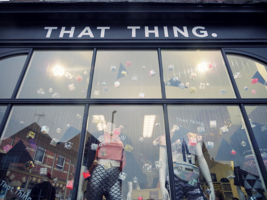 That Thing Bristol shop, Festival fashion, Stokes Croft