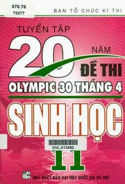 Tuyển Tập 20 Năm Đề Thi Olympic Sinh Học Lớp 11