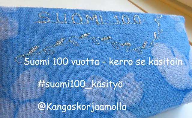 suomi 100 käsityö