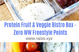 Protein Fruit & Veggie Bistro Box - Zero WW Freestyle Points