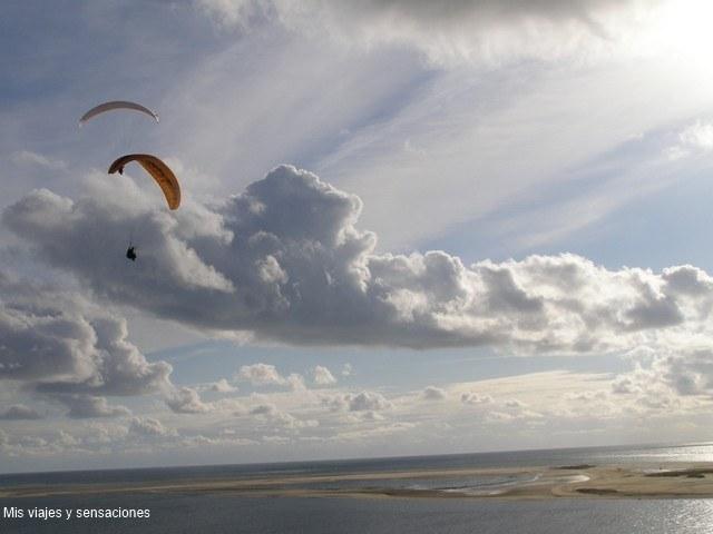 Parapente  playas de Francia