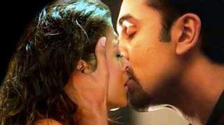Ranbir Kapoor and Aishwarya Rai Bachchan intimate scene