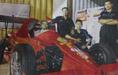 Mobil F1 Buatan Bantul