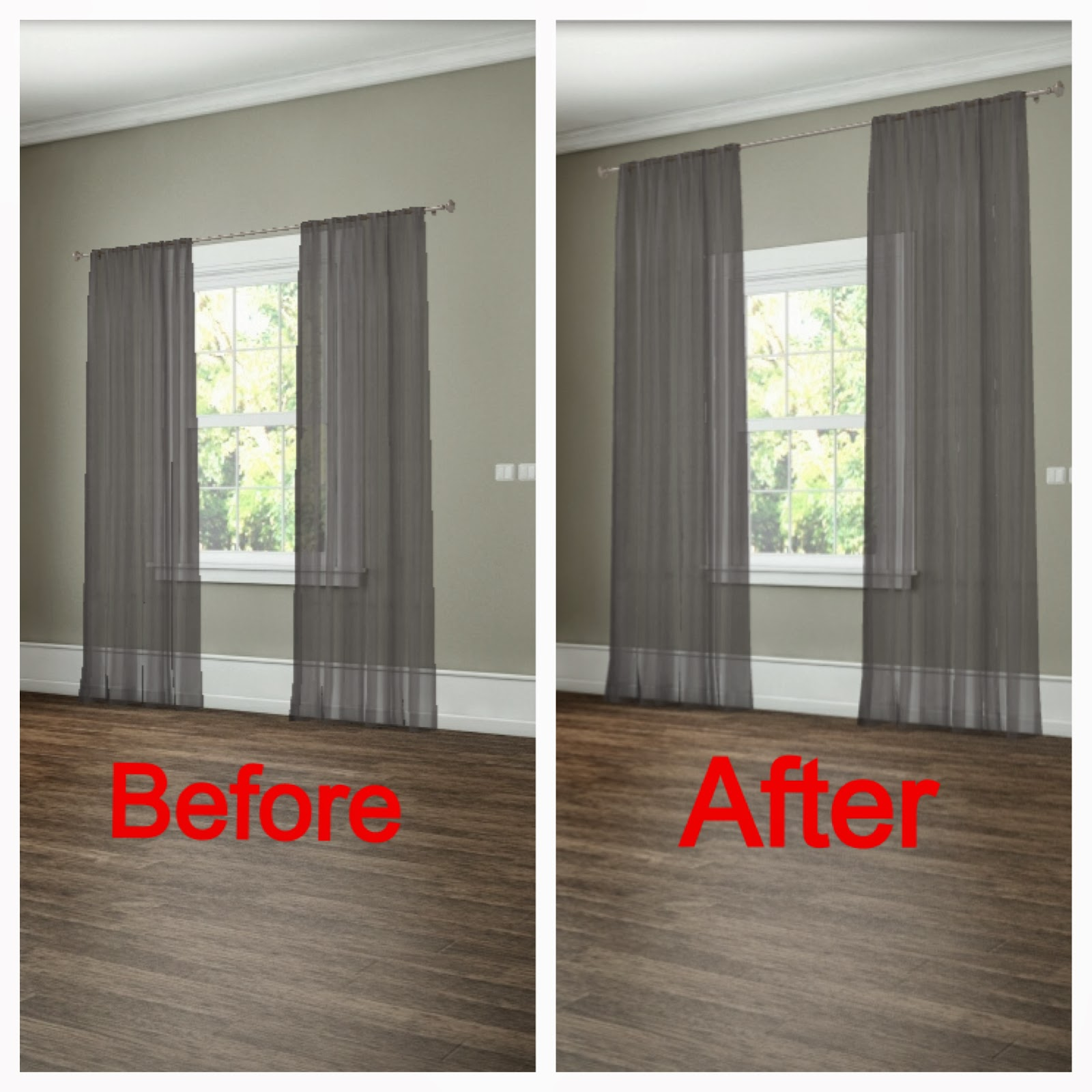 How To Properly Hang Drapes