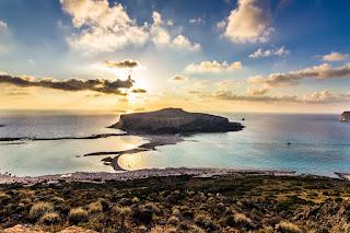 Playa de Balos en la Isla de Creta, Grecia Mejor Playa del Mundo