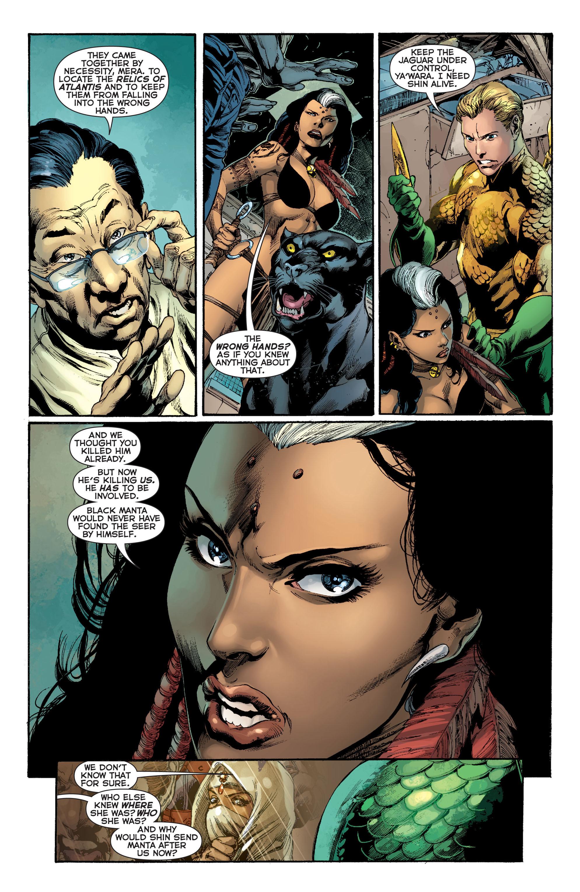 Read online Aquaman (2011) comic -  Issue #8 - 10