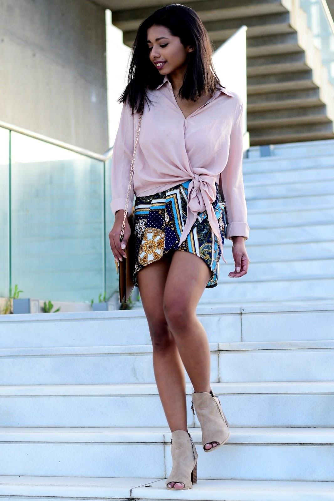blush summer outfit inspiration