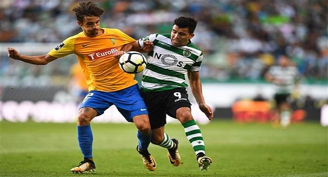 cuplikan gol sporting lisbon vs olympiakos 3-1
