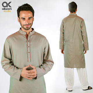 Alkaram Exclusive Yarn Dyed Cambric Collection for Mens