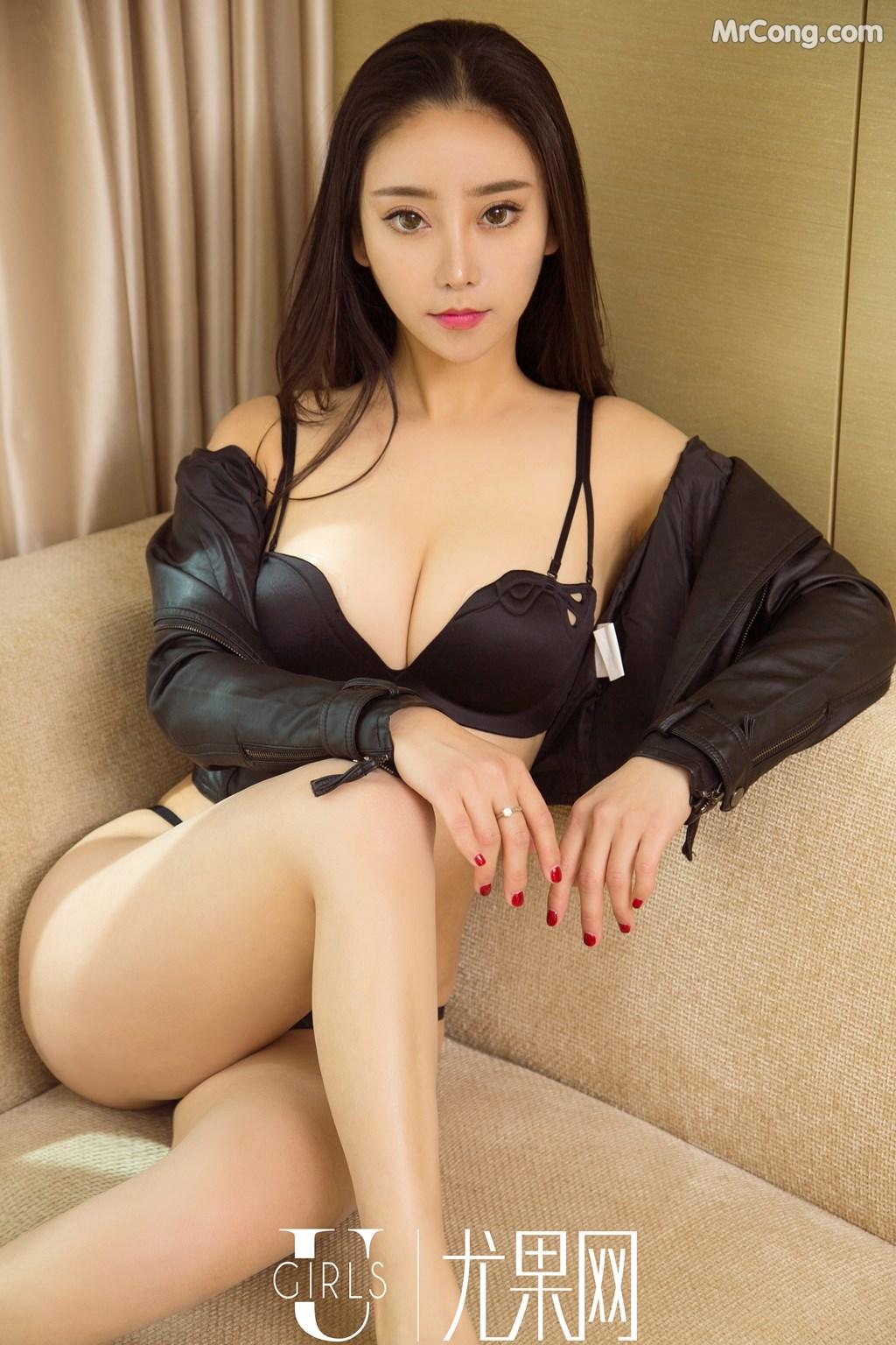 Image UGIRLS-U369-Han-Mo-Yu-MrCong.com-004 in post UGIRLS U369: Người mẫu Han Mo Yu (韩沫瑜) (66 ảnh)