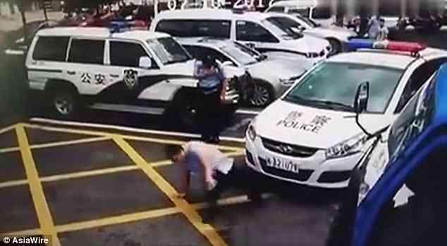 lelaki menipu polis