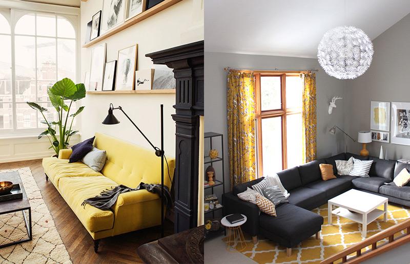 minimalismo e amarelo foram feitos uns para o outro