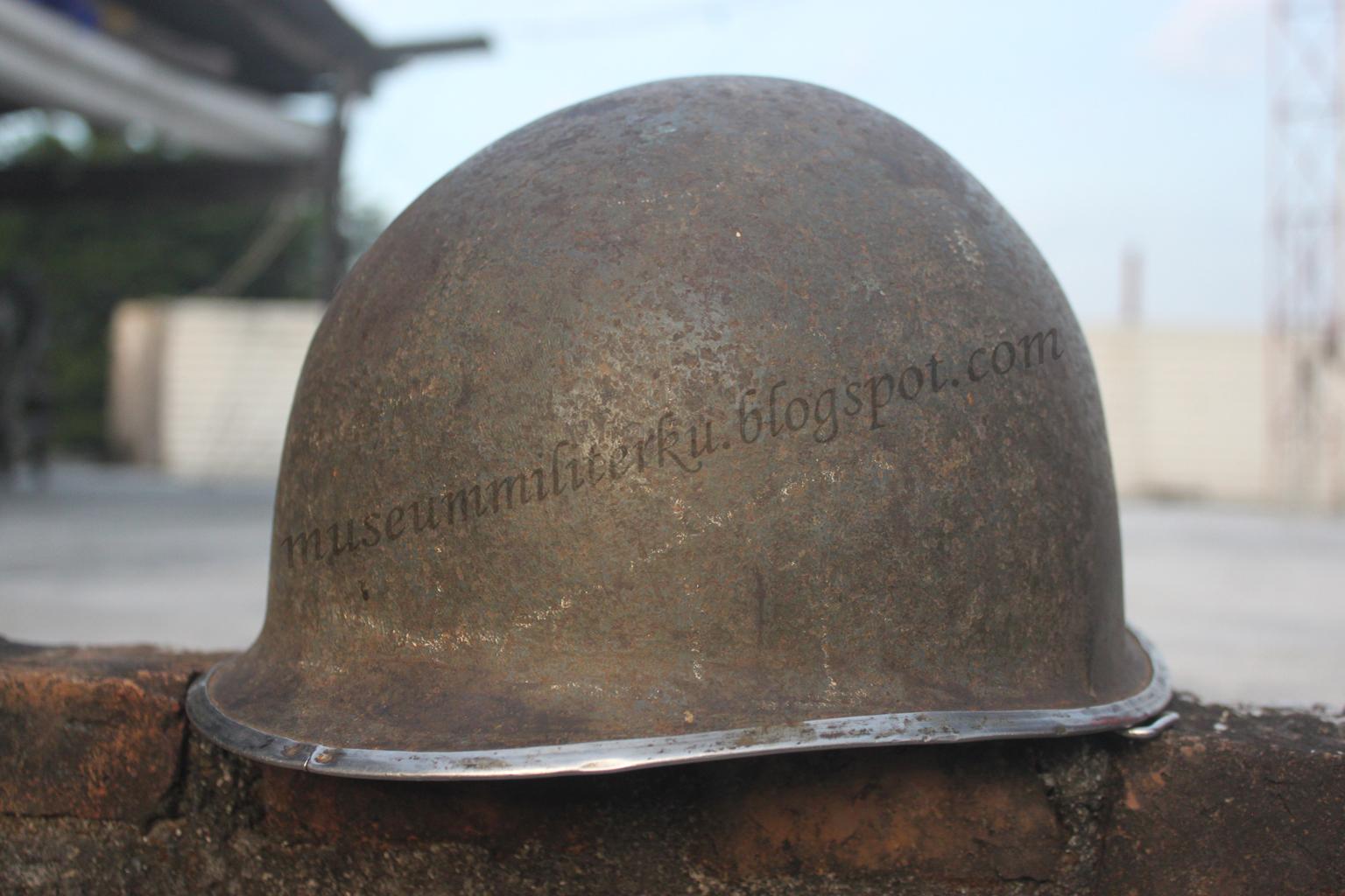 Museum Militerku Jackpot Another WW2 M1 Helmet Shell
