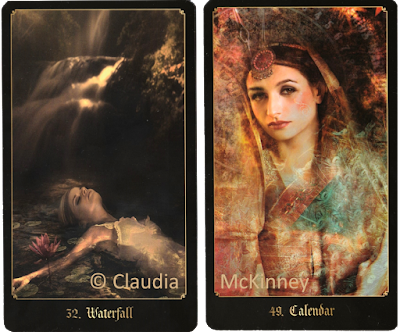 Chronicles of Destiny Fortune Cards Waterfall Calendar
