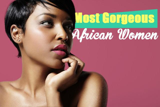 gorgeous African women
