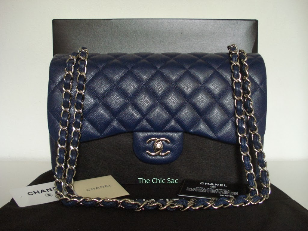2d20deb385cc The Chic Sac: Chanel Classic Jumbo Flap - Limited Edition Colors