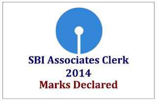SBI Associates Clerk Exam 2014 Marks Declared-Check Here