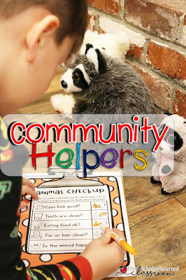 Enjoy this Community Helper Unit for Kindergarten. It includes math, English Language Arts (ELA), editable sight words, dramatic play (including fun hats!), pocket chart activities, syllable sorts, anchor charts, lap books covering six different themes, emergent readers, graphing, spelling resources, STEM materials, and more! Plus it's Common Core aligned! This can be used with your preschool, Kindergarten, 1st, or 2nd grade classroom and homeschool students. Click through now for more details!