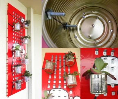 Jardines verticales caseros y reciclados Como construir jardines verticales caseros
