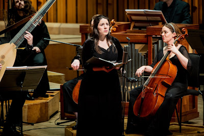 Handel: Brockes Passion - Elizabeth Watts, Academy of Ancient Music - Barbican (Photo Robert Workman)