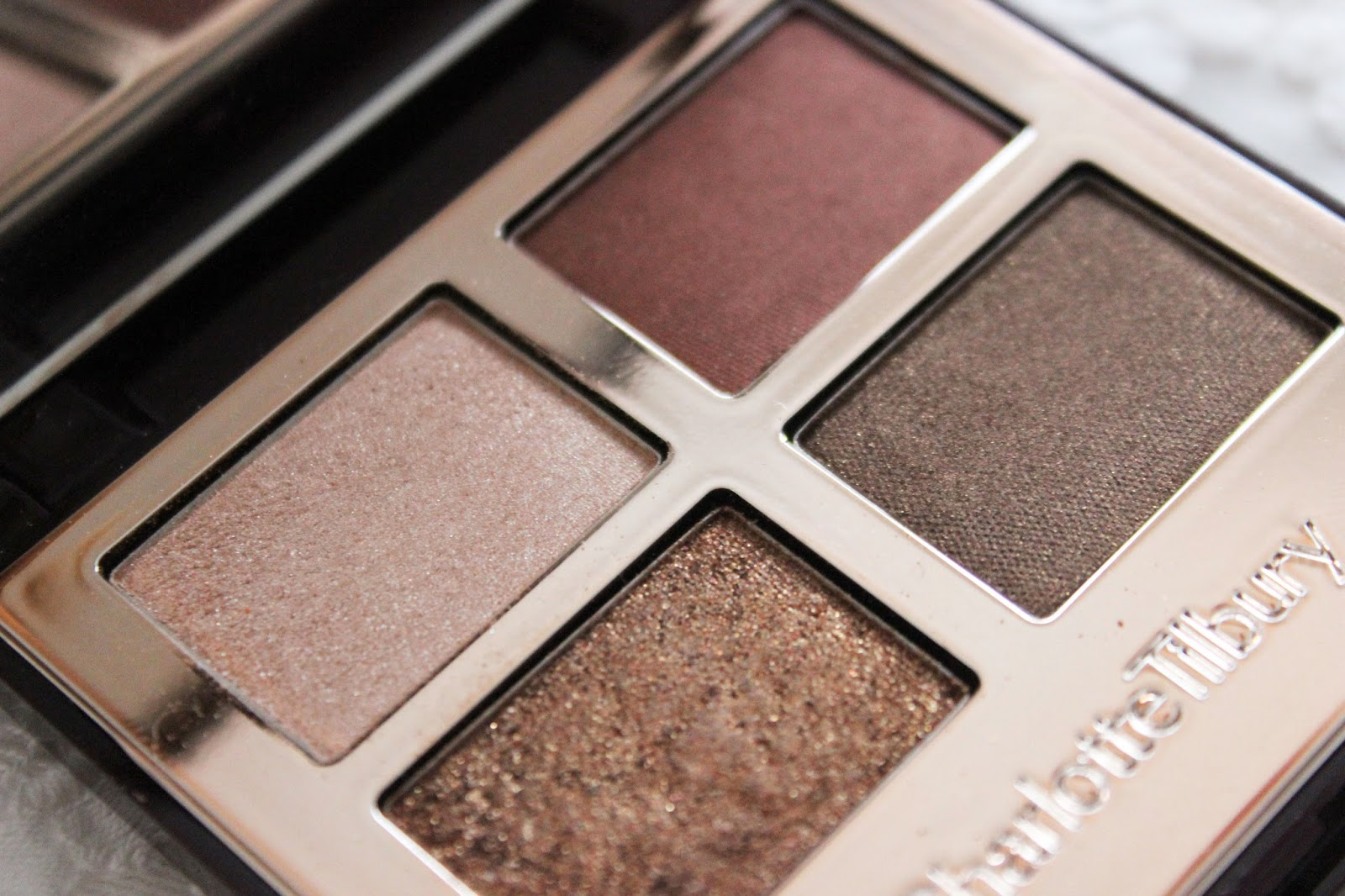 Charlotte Tilbury: The Dolce Vita Eyeshadow Quad // Review