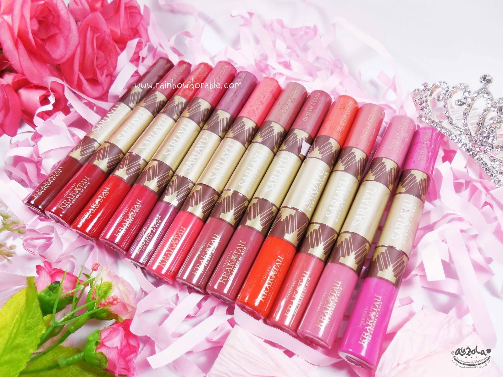 Sariayu Color Trend 16 Duo Lip Colo K 10 Daftar Harga Terkini Review