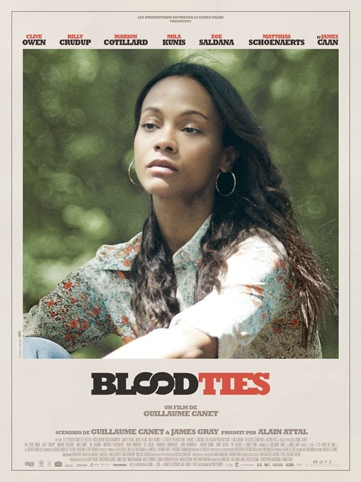 blood ties zoe saldana