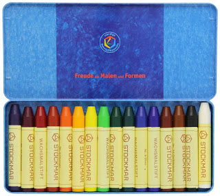 Stockmar crayons - gift ideas for kids who love to doodle, write, & draw from And Next Comes L