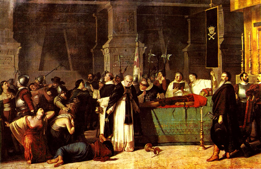 Francisco Pizarro Funeral of Atahualpa Inca Empire