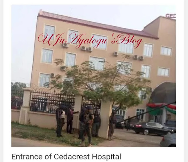 Buhari's Son's Accident: Soldiers Allegedly Bars Other Patients Entry To Hospital